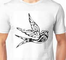 Bird Abstract Unisex T-Shirt