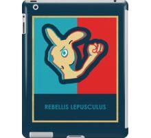 REBELLIS LEPUSCULUS iPad Case/Skin