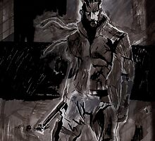Solid Snake by tagakain