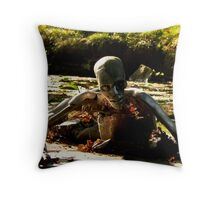 roboman Throw Pillow