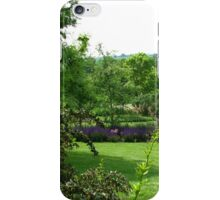 Hilltop Garden - View from Clover Hill iPhone Case/Skin