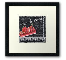 Pan de Sucre Framed Print