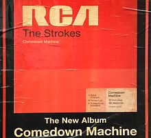 THE STROKES COMEDOWN MACHINE by thegreylady