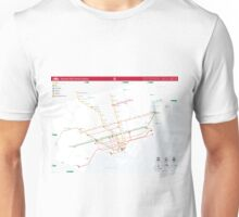 TTC System Map Unisex T-Shirt
