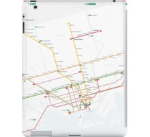 TTC System Map iPad Case/Skin