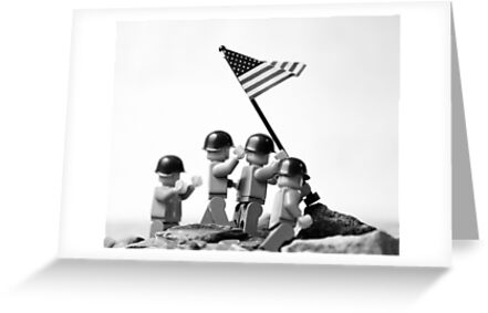 Iwo Jima by Mike Stimpson