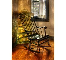 The rocking chair Photographic Print