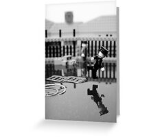 Behind the Gare Saint Lazare Greeting Card