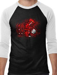 Groudon Men's Baseball ¾ T-Shirt