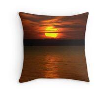 Sunfire Throw Pillow
