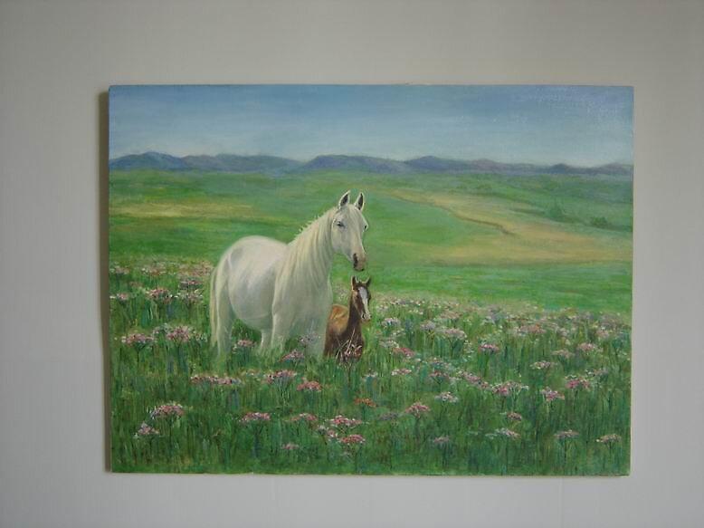 horses by maleki