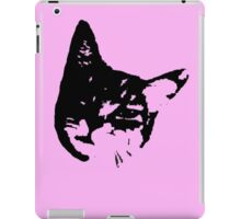 Pink Kitty Head iPad Case/Skin