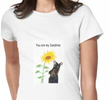 Scottie Dog 'You are my Sunshine' Womens Fitted T-Shirt