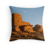 Sunset at Wutpaki National Monument, near Flagstaff Arizona Throw Pillow