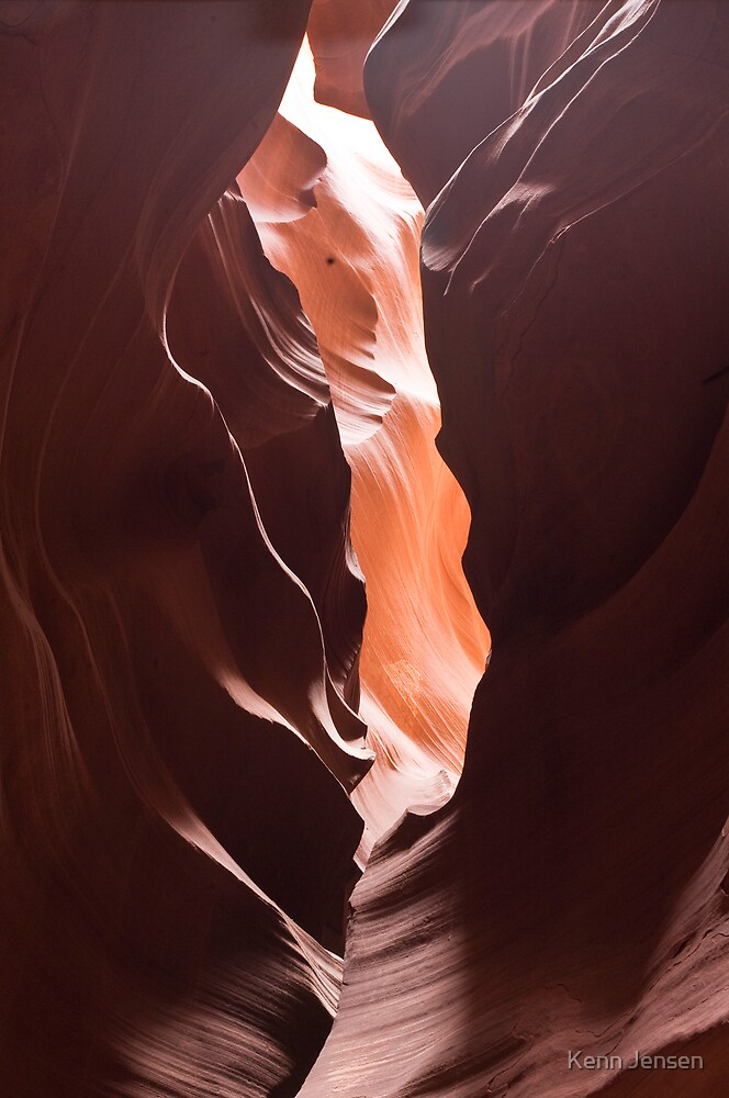 Antelope Canyon Arizona #2 by Kenn Jensen