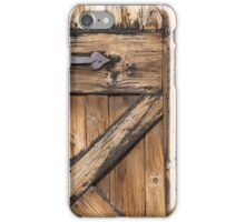Barn door iPhone Case/Skin