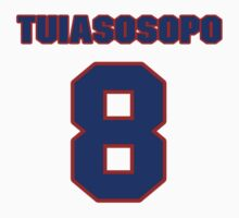 National football player Marques Tuiasosopo jersey 8 by imsport