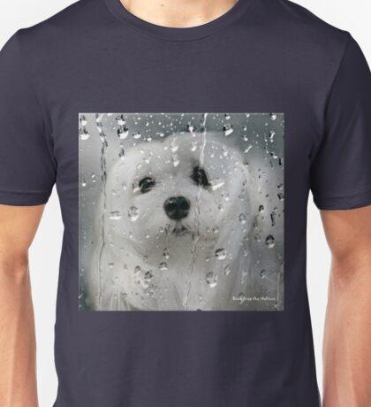 Snowdrop the Maltese - Spring Showers Unisex T-Shirt