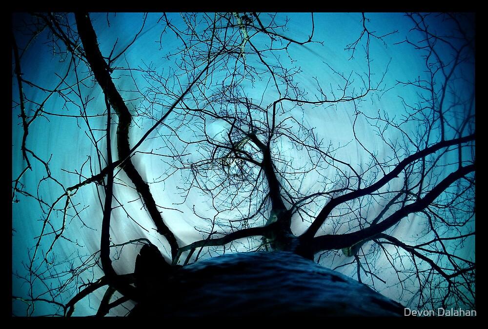 Blue Tree by Devon Mallison