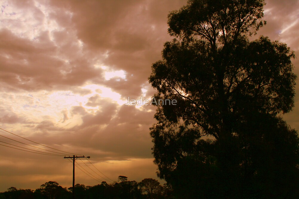 Orange Skies by JadeAnne