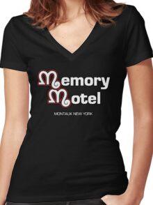 Memory Motel Women's Fitted V-Neck T-Shirt
