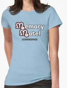 Memory Motel Womens Fitted T-Shirt