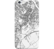 Streets - Tokyo (Black on White) iPhone Case/Skin