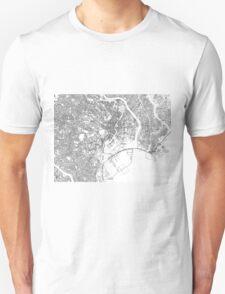 Streets - Tokyo (Black on White) T-Shirt