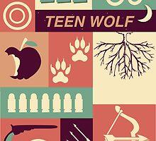 Teen Wolf Poster by badwolfwinter