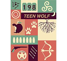 Teen Wolf Poster Photographic Print