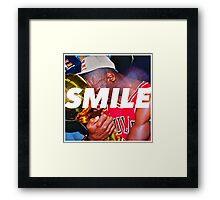MJ Rings / Smile Design 2014 Framed Print