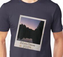 Photograph Lake Dark (Slant) Unisex T-Shirt