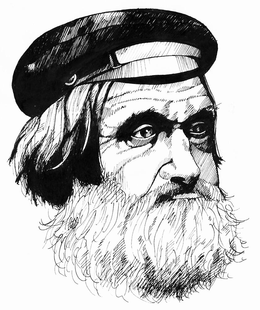 Old Fisherman by Talvikki