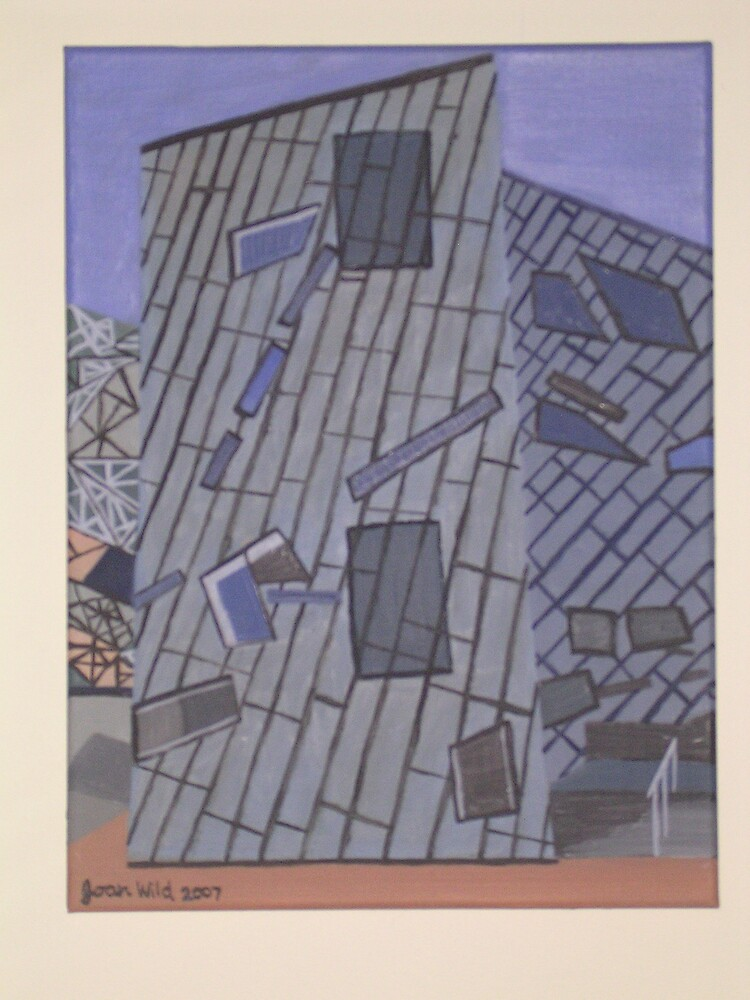 Federation Square by Joan Wild