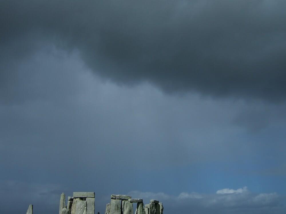 Stormy Stonehenge by Talvikki