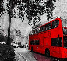 Artwork - London Bus by ncp-photography