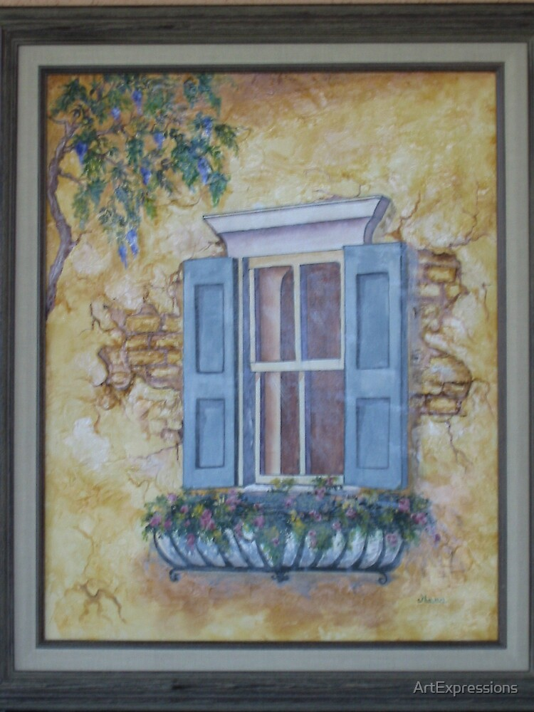 Tuscan Memories by ArtExpressions