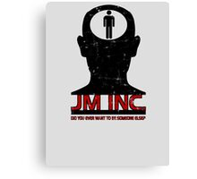 JM Inc. from Being John Malkovich Canvas Print