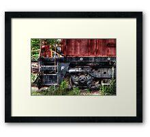 Train Detail Framed Print