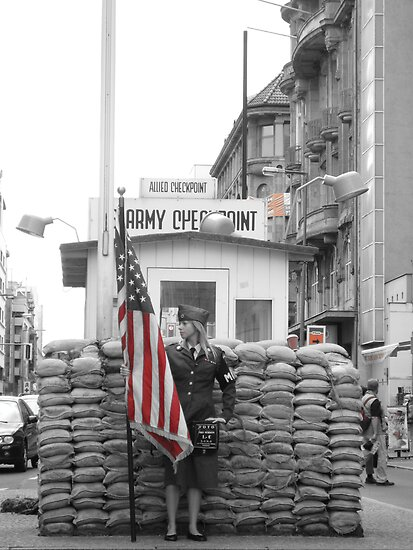 Check Point Charlie by gotmiller