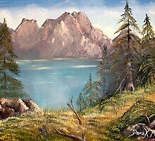 german Mountains by derekmccrea