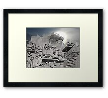 Access to Block K Framed Print