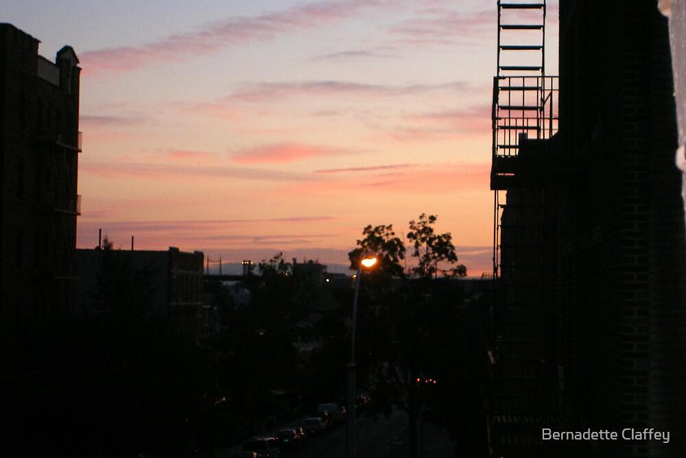 Sunrise Over Astoria by Bernadette Claffey