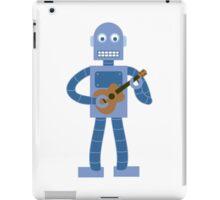 Ukulele Robot iPad Case/Skin