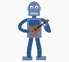 Ukulele Robot Kids Clothes