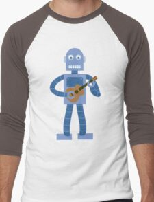 Ukulele Robot Men's Baseball ¾ T-Shirt