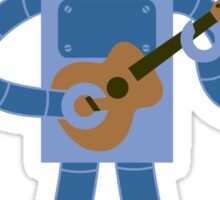Ukulele Robot Sticker
