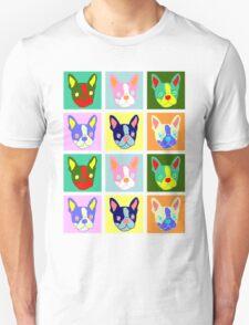 Boston Terrier Pop Art Unisex T-Shirt