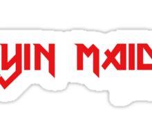 Cryin Maiden Sticker