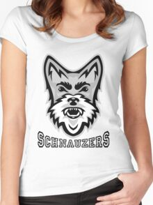 Schnauzer Sports Women's Fitted Scoop T-Shirt